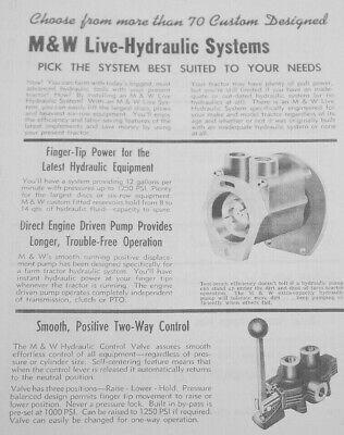 Lift-All Live Hydraulic Pump Farmall Super M Stage II III