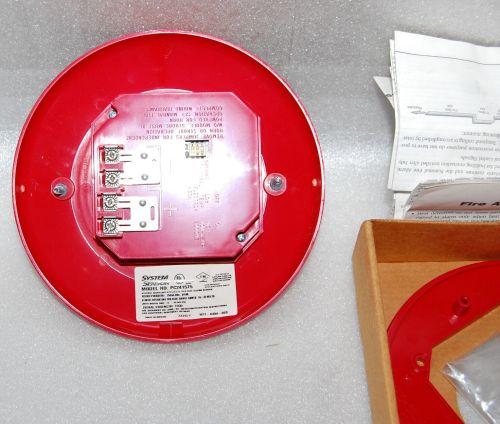 small resolution of system sensor pc241575 ceiling mount fire alarm horn strobe for sale online ebay