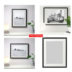 details about ikea picture frame 16x20 ribba 1pk 2pk black photo frames arts poster new fs