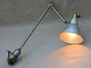 details sur lampe vintage applique murale d atelier mazda petit model