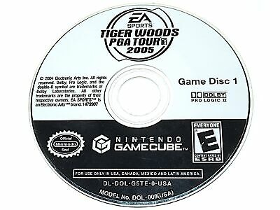 Tiger Woods PGA Tour 2005 Replacement Disc 1 Only