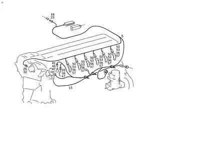Mercedes 1404409905 Engine Wiring Harness Loom (Exchange
