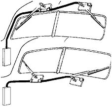 Dual Windshield Wiper Kit with 2 Speed and Adjustable