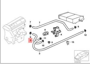 Genuine BMW HOSE For Heater Control Valve AND ENGINE