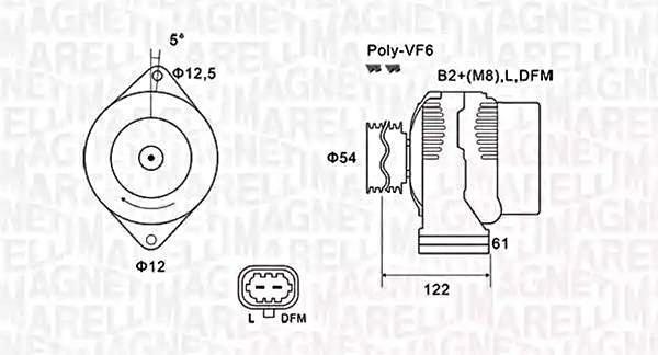 Alternator For VAUXHALL OPEL SAAB Astra GTC Mk VI Insignia
