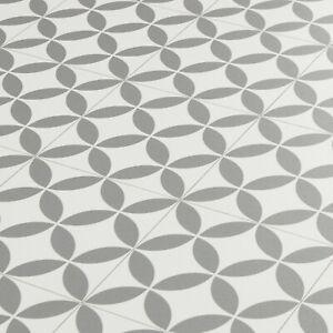 details about mosaic tile cushion vinyl flooring sheet grey white bertie lino roll versailles