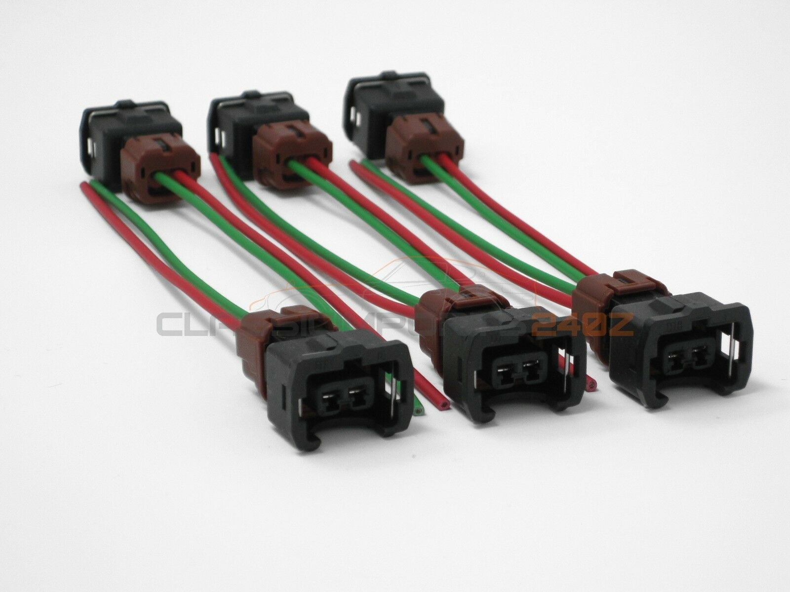 hight resolution of fuel injector wiring harness connectors for nissan 300zx z31 1984 1987 n a turbo