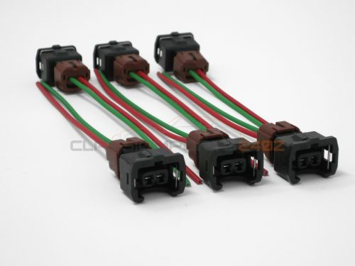 small resolution of fuel injector wiring harness connectors for nissan 300zx z31 1984 1987 n a turbo