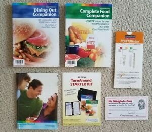Weight Watchers Complete Food & Dining Out Companion Books ...