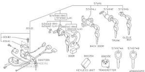 88035AC210 Subaru Antitheft System Control Module