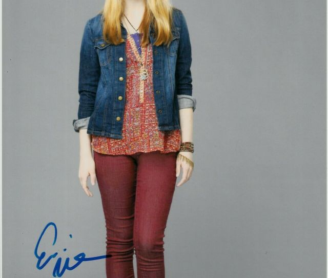 Erin Moriarty Signed Sexy Photo Uacc Reg   Ebay