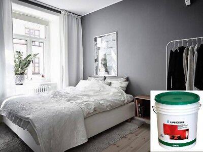 Atriathermika è il sistema di pitture, decorativi e rivestimento termoisolanti che permette un isolamento termico dei vostri ambienti con un risparmio energetico certificato. Pittura Lavabile Colorata Per Interni Supercolor Oikos Lt 1 4 14 Col Grigio Ebay