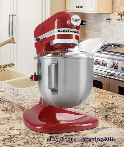 kitchen aid 5 qt mixer discount faucets kitchenaid ksm500q2er heavy duty pro 500 bowl lift stand empire red ebay