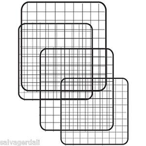 Mini Grid Panel Shelving Cubicle Binning Store Display 10