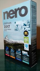 Nero 2017 Platinum Full : platinum, Platinum,, Windows, Supported,, Factory, Sealed, 888262000682