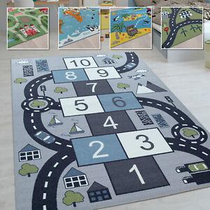 details sur tapis enfant tapis poils ras chambre enfant differents designs tapis jeu colore