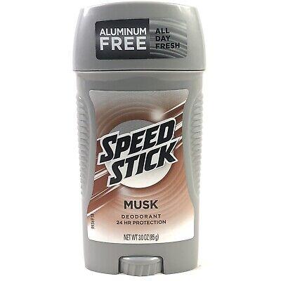 Speed Stick Musk Scent Mennen Deodorant - 3 Ounce ...