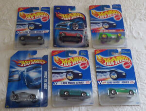 Hot Wheels Lot of 6 Toys Cars Power Pipes Speed Blaster