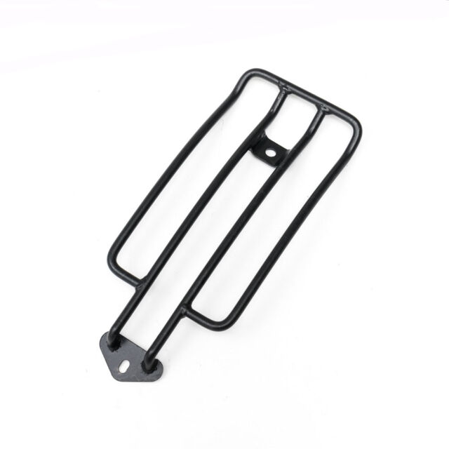 Black Solo Seat Luggage Support Rack For Harley Sportster