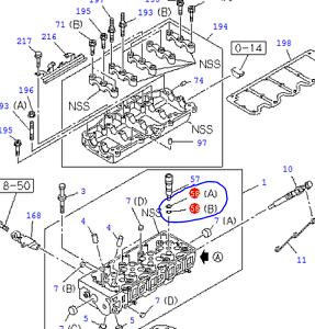 Luft- & Kraftstoffversorgung Isuzu Trooper 3.0 O-rings