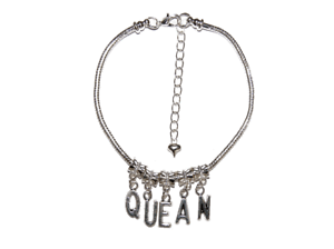 'QUEAN' Euro Anklet Ankle Chain Jewelry Cuckquean Cuckold