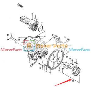 Pump Coupling Assy for Hitachi Wheel Loader 344G 444G