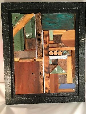 Abstract Wood Art : abstract, Unique, Abstract, Relief, Sculpture,, Reclaimed