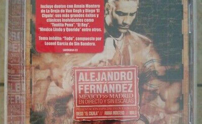 Nuevo Alejandro Fernandez Mexico Madrid En Directo Y Sin