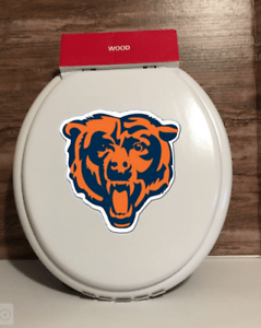 Chicago Bears Toilet Seat : chicago, bears, toilet, Chicago, Bears, Toilet, Version