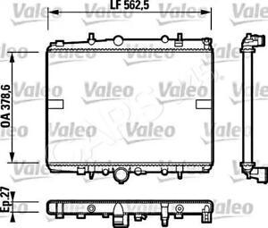 VALEO Engine Cooling Radiator Fits CITROEN C5 Wagon