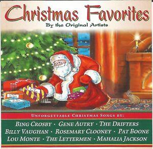 christmas favorites unforgettable s original artists classic - Classic Christmas Favorites