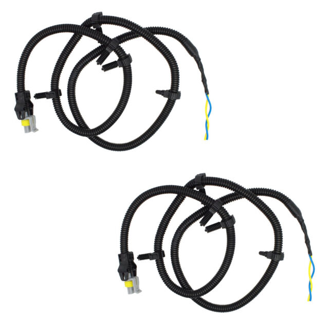 Pair of Wire Harness Pigtail Plug for ABS Wheel Speed