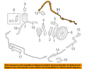 honda power steering diagram the below is of a nerve cell or neuron oem 05 07 odyssey pressure hose 53713shja01 ebay image loading