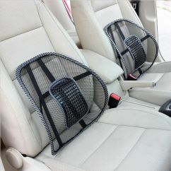 Lower Back Support For Chair Hanging Black Friday Mesh Lumbar Cushion Seat Posture Corrector Car Office Ebay
