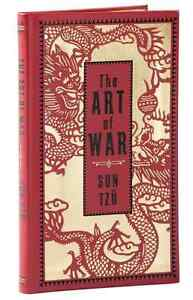 *New Leatherbound* THE ART OF WAR by Sun Tzu (Pocket Size)