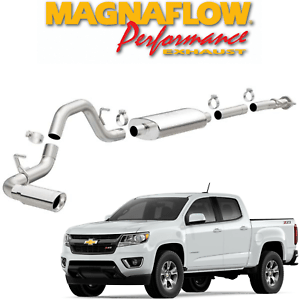 details about magnaflow stainless cat back exhaust fits 2015 2021 colorado canyon 2 5l 3 6l