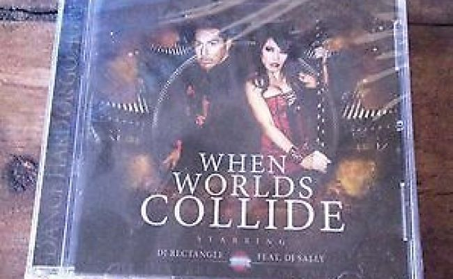 Dj Rectangle Ft Dj Sally When Worlds Collide New Sealed Cd