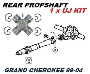 FOR JEEP GRAND CHEROKEE REAR AXLE FRONT PROPSHAFT UJ