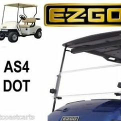 Ezgo Windshield Hissing Cockroach Diagram Txt 1995 2013 Fold Down Street Legal As4 Dot Ebay Image Is Loading