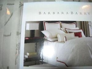 Barbara Barry Quot Silhouette Quot King Sham Beautiful Nib Ebay