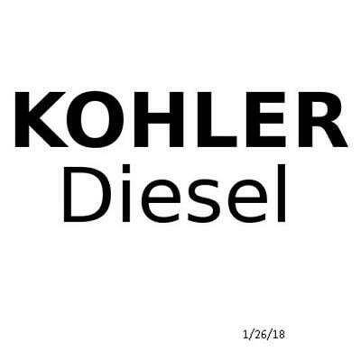 Genuine Kohler Part OIL FILTER CARTRIDGE ED0021750010S