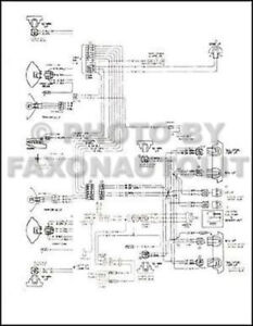 1979 Chevy Chevette Foldout Wiring Diagram Electrical