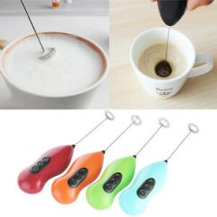 Beater Kitchen Pull Down Faucet Mini Electric Coffee Whisk Mixer Milk Foamer Frother Egg Details About Tools
