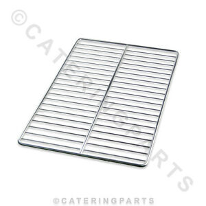 1/1 GN GASTRONORM CHROME PLATED SHELF WIRE GRID 53cm x