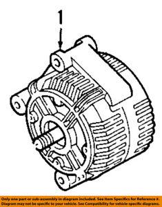 2007 Bmw 335i Alternator : alternator, 07-11, 335i-Alternator, 12317558220