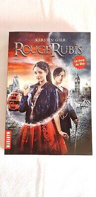 Rouge Rubis (roman) : rouge, rubis, (roman), Rouge, Rubis, Roman, Kerstin, GIER,, éditions, Milan,, Neuf.
