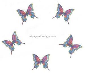 Rainbow Butterfly Tattoo Designs