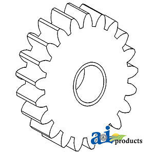 A-733551M92 Massey Ferguson Parts GEAR OIL PUMP IDLER 2500