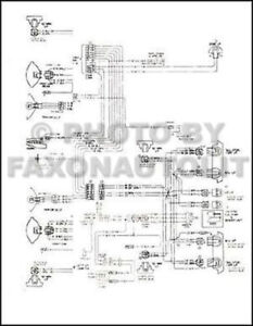 1979 Chevy GMC C5-C7 Gas Wiring Diagram C50 C60 C70 C5000