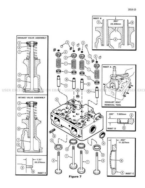 Case IH 1470 Tractor Service Repair Manual for sale online